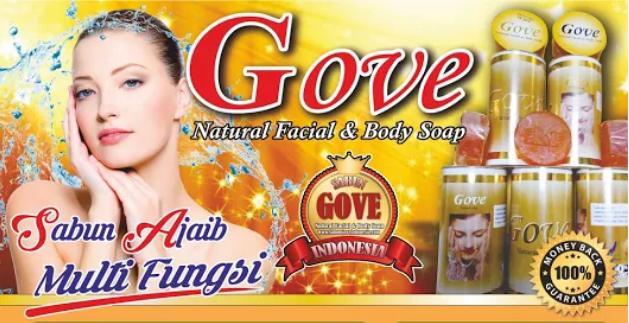 Jual Sabun Gove di Makassar Hub. Bp Andi 0856-1121-469