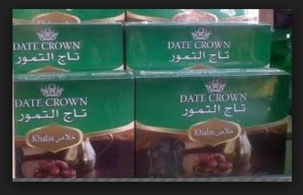Distributor Kurma Date Crown Khalas di Bekasi Jawa Barat Hub 0856-1121-469