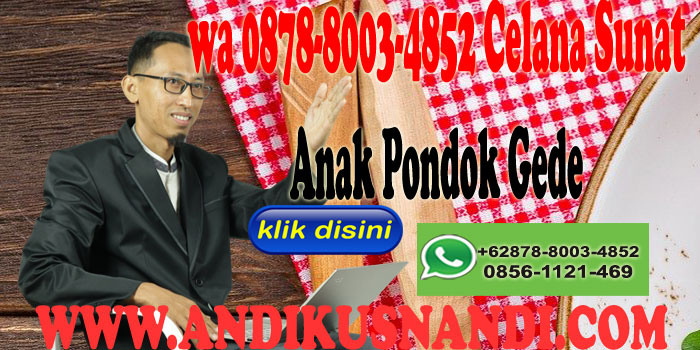 wa 0878-8003-4852 Celana Sunat Anak Pondok Gede