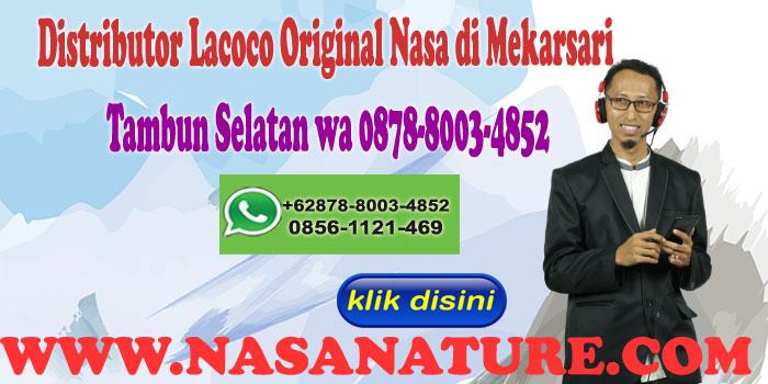 Distributor Lacoco Original Nasa di Mekarsari Tambun Selatan wa 0878-8003-4852
