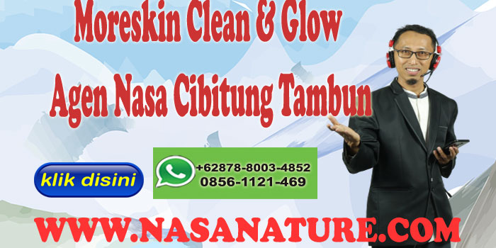 Moreskin Clean & Glow Agen Nasa Cibitung Tambun