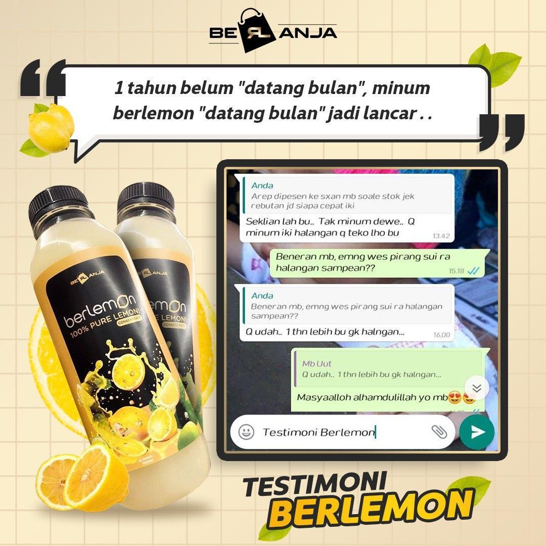 Agen Berlemon di Bekasi Timur Hub 0878-8003-4852