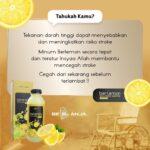 Berlemon Sari Buah Lemon 100% ASLI