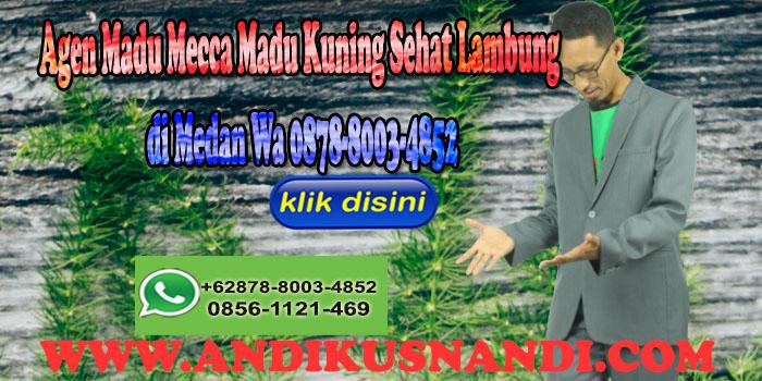 Agen Madu Mecca Madu Kuning Sehat Lambung di Medan Wa 0878-8003-4852