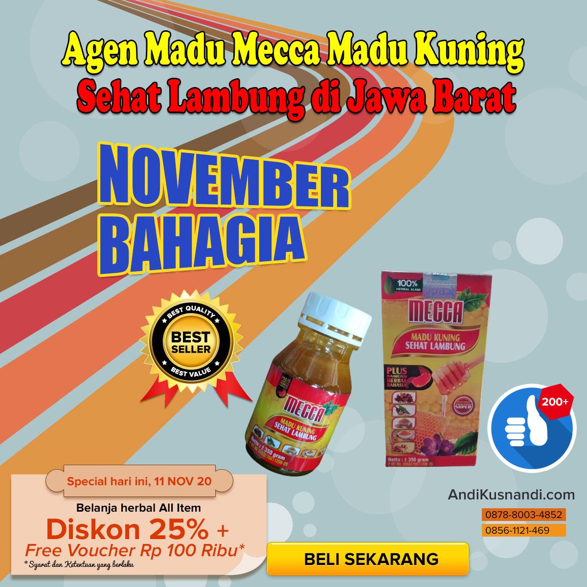 Agen Madu Mecca Madu Kuning Sehat Lambung di Jawa Barat