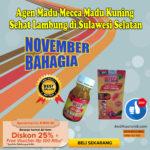 Agen Madu Mecca Madu Kuning  Sehat Lambung di Sulawesi Selatan