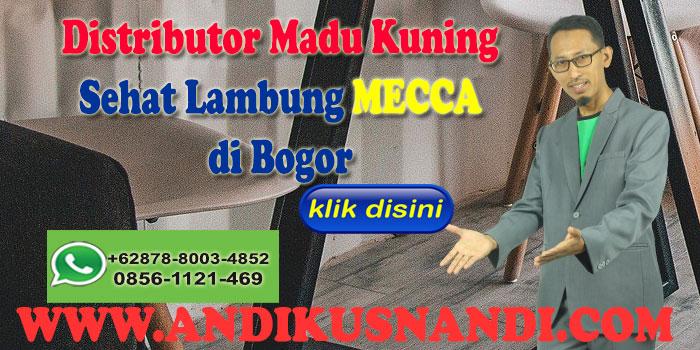Distributor Madu Kuning Sehat Lambung MECCA  di Bogor