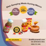 Efek Samping Madu Kuning Mecca