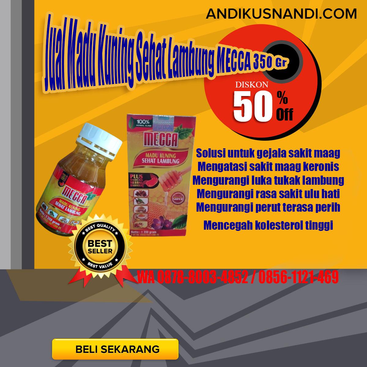 WA 0878-8003-4852 Jual Madu Kuning Sehat Lambung MECCA 350 Gr