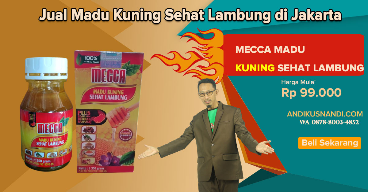 Wa 0878-8003-4852 Jual Madu Kuning Sehat Lambung di Jakarta
