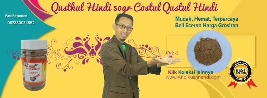 Qusthul Hindi 50gr Costul Qustul Hindi