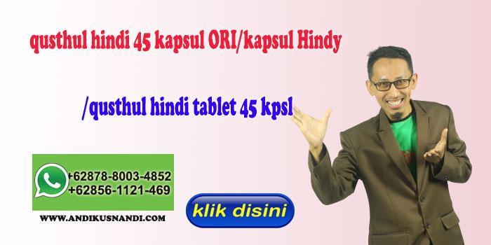 qusthul hindi 45 kapsul ORI/kapsul Hindy /qusthul hindi tablet 45 kpsl Shope