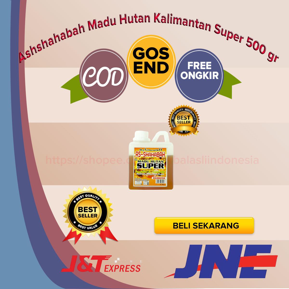 Ashshahabah-Madu-Hutan-Kalimantan-Super-500-gr