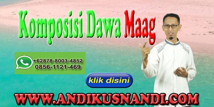 Komposisi Dawa Maag