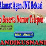 Daftar Alamat Agen JNE Bekasi Lengkap Beserta Nomor Telepon